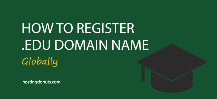 How To Register edu Domain Name? (Globally) #edu #Domain