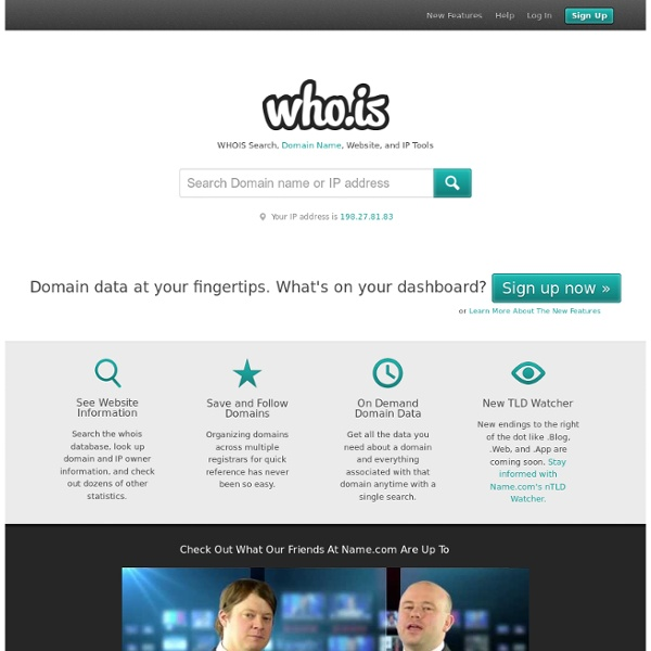 Whois Information