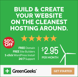 GreenGeeks Special Offer