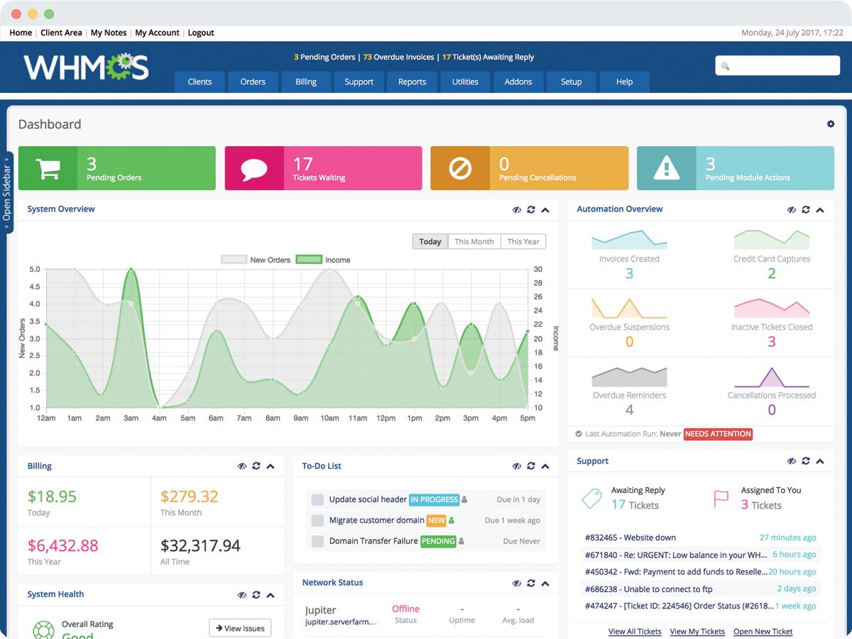 whmcs-dashboard