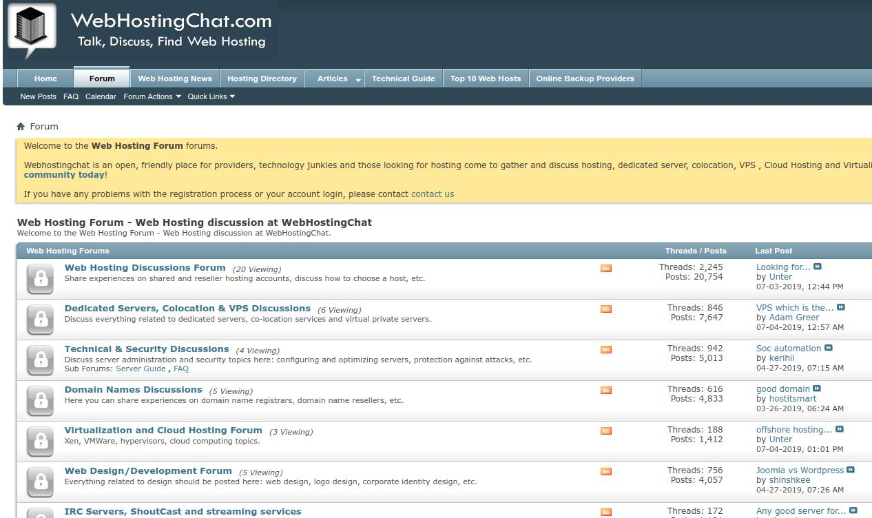 webhostingchat