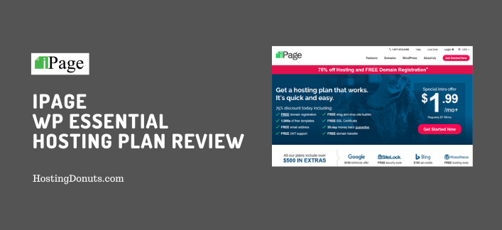 iPage WP Essential Hosting Plan Review (+ Discount)
