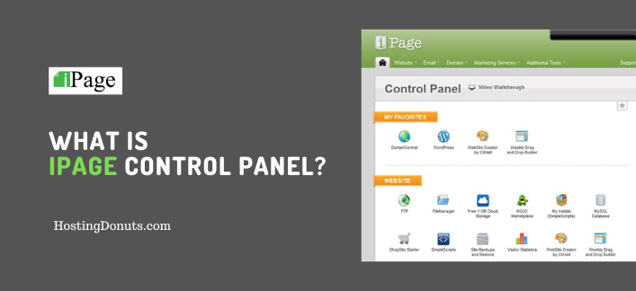 What is iPage Control Panel vDeck?