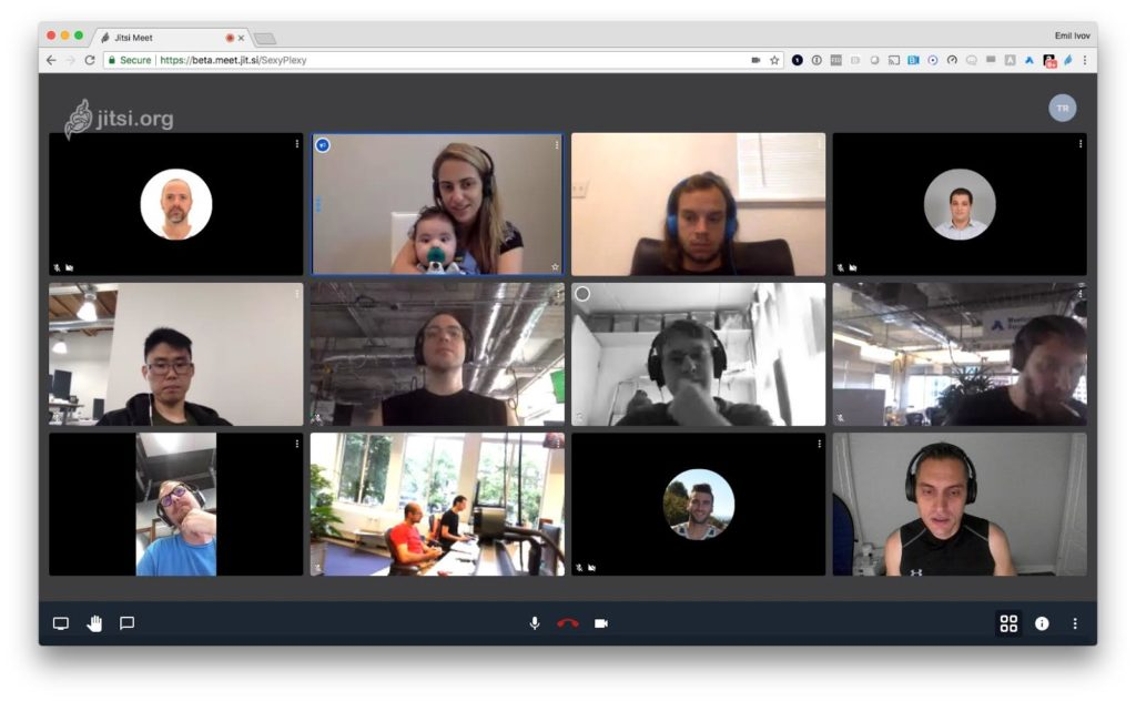 Jitsi Meet Video Conferencing